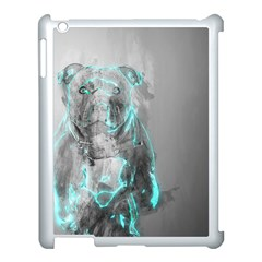 Dog Apple Ipad 3/4 Case (white) by NSAsStore