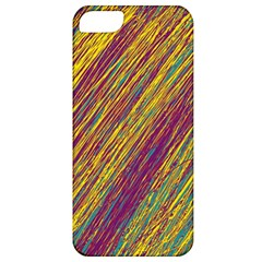 Yellow, Purple And Green Van Gogh Pattern Apple Iphone 5 Classic Hardshell Case by Valentinaart
