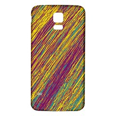 Yellow, Purple And Green Van Gogh Pattern Samsung Galaxy S5 Back Case (white) by Valentinaart