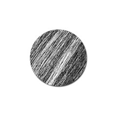 Black And White Decorative Pattern Golf Ball Marker (4 Pack) by Valentinaart