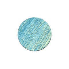Light Blue Pattern Golf Ball Marker (10 Pack) by Valentinaart