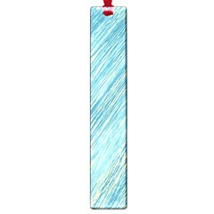 Light Blue Pattern Large Book Marks by Valentinaart