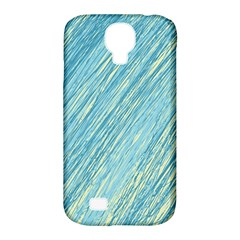 Light Blue Pattern Samsung Galaxy S4 Classic Hardshell Case (pc+silicone) by Valentinaart