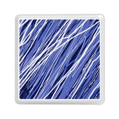 Blue Elegant Pattern Memory Card Reader (square)  by Valentinaart