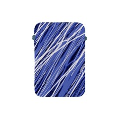 Blue Elegant Pattern Apple Ipad Mini Protective Soft Cases by Valentinaart