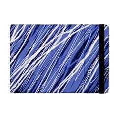 Blue Elegant Pattern Ipad Mini 2 Flip Cases by Valentinaart