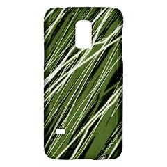 Green Decorative Pattern Galaxy S5 Mini by Valentinaart