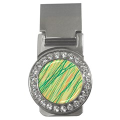 Green and orange pattern Money Clips (CZ)