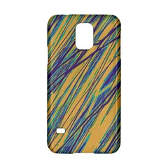 Blue And Yellow Van Gogh Pattern Samsung Galaxy S5 Hardshell Case  by Valentinaart