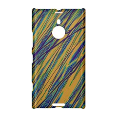 Blue and yellow Van Gogh pattern Nokia Lumia 1520 by Valentinaart