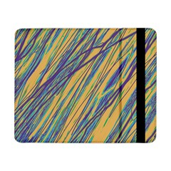 Blue And Yellow Van Gogh Pattern Samsung Galaxy Tab Pro 8 4  Flip Case by Valentinaart