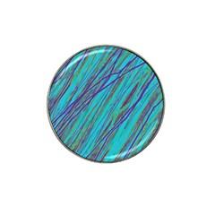 Blue Pattern Hat Clip Ball Marker (10 Pack) by Valentinaart