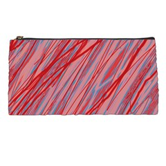 Pink And Red Decorative Pattern Pencil Cases by Valentinaart