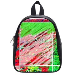 Colorful Pattern School Bags (small)  by Valentinaart