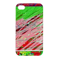 Colorful Pattern Apple Iphone 4/4s Premium Hardshell Case by Valentinaart
