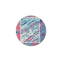 Colorful Pattern Golf Ball Marker (4 Pack) by Valentinaart