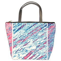 Colorful Pattern Bucket Bags by Valentinaart