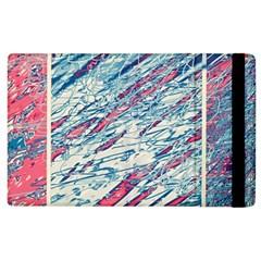 Colorful Pattern Apple Ipad 2 Flip Case by Valentinaart