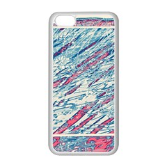 Colorful Pattern Apple Iphone 5c Seamless Case (white) by Valentinaart