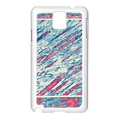Colorful Pattern Samsung Galaxy Note 3 N9005 Case (white) by Valentinaart