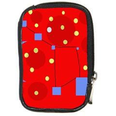 Red Sky Compact Camera Cases by Valentinaart