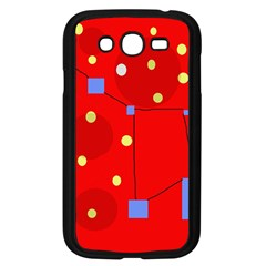 Red Sky Samsung Galaxy Grand Duos I9082 Case (black)