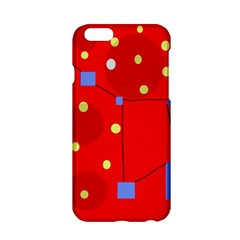 Red Sky Apple Iphone 6/6s Hardshell Case by Valentinaart