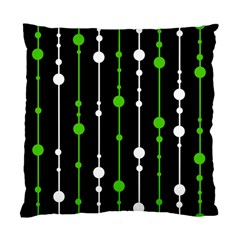 Green, white and black pattern Standard Cushion Case (Two Sides)