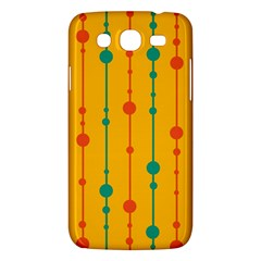 Yellow, Green And Red Pattern Samsung Galaxy Mega 5 8 I9152 Hardshell Case  by Valentinaart