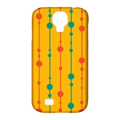 Yellow, Green And Red Pattern Samsung Galaxy S4 Classic Hardshell Case (pc+silicone) by Valentinaart