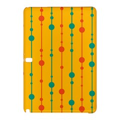 Yellow, Green And Red Pattern Samsung Galaxy Tab Pro 10 1 Hardshell Case by Valentinaart