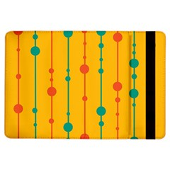 Yellow, Green And Red Pattern Ipad Air Flip by Valentinaart