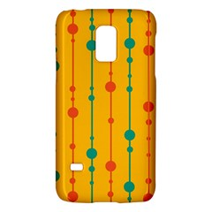 Yellow, Green And Red Pattern Galaxy S5 Mini by Valentinaart