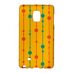 Yellow, green and red pattern Galaxy Note Edge by Valentinaart