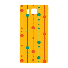 Yellow, Green And Red Pattern Samsung Galaxy Alpha Hardshell Back Case by Valentinaart