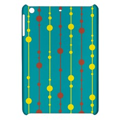 Green, Yellow And Red Pattern Apple Ipad Mini Hardshell Case by Valentinaart