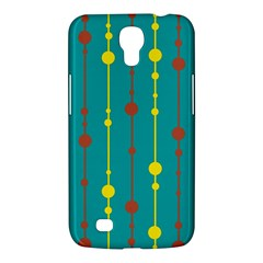 Green, Yellow And Red Pattern Samsung Galaxy Mega 6 3  I9200 Hardshell Case by Valentinaart