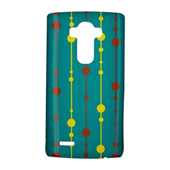 Green, yellow and red pattern LG G4 Hardshell Case by Valentinaart