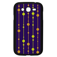 Deep Blue, Orange And Yellow Pattern Samsung Galaxy Grand Duos I9082 Case (black) by Valentinaart