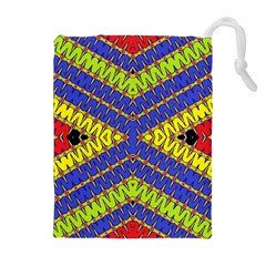 Listen Close Drawstring Pouches (extra Large) by MRTACPANS