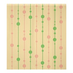 Pastel Pattern Shower Curtain 66  X 72  (large)  by Valentinaart