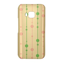 Pastel pattern HTC One M9 Hardshell Case by Valentinaart