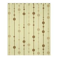 Brown Pattern Shower Curtain 60  X 72  (medium)  by Valentinaart