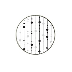 Black And White Elegant Pattern Hat Clip Ball Marker (10 Pack) by Valentinaart