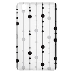 Black And White Elegant Pattern Samsung Galaxy Tab Pro 8 4 Hardshell Case by Valentinaart
