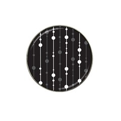 Black And White Pattern Hat Clip Ball Marker (10 Pack) by Valentinaart