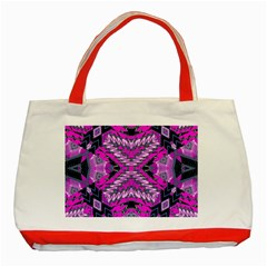 My Magic Eye Classic Tote Bag (red) by MRTACPANS
