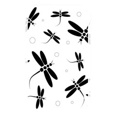 Black And White Dragonflies Memory Card Reader by Valentinaart