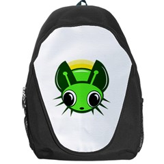 Transparent Firefly Backpack Bag by Valentinaart