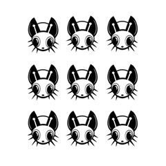 Black And White Fireflies Patten 5 5  X 8 5  Notebooks by Valentinaart